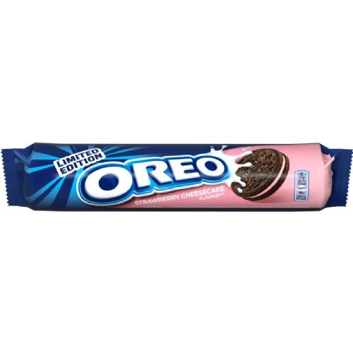 Oreo Strawberry Cheesecake 154gr 16'li rulo paket (limited edition)